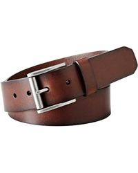 Fossil - Dacey Leather Belt - Lyst