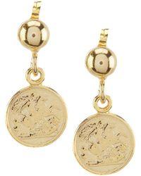 Argento Vivo - Coin Drop Earrings - Lyst