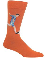 Hot Sox - Soccer Player Crew Socks - Lyst
