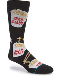 Stance - Novelty Noods Crew Socks - Lyst
