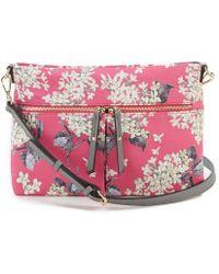 Antonio Melani - Made With Liberty Fabrics Floral Cross-body Colorblock Bag - Lyst