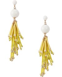 Kate Spade - Extra Extra Statement Earrings - Lyst