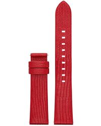 Michael Kors - Access Sofie Lizard-embossed Leather Watch Strap - Lyst