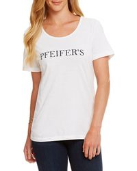 Heritage - Pfeifer ́s Logo Tee - Lyst