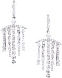 Nadri - Gloria Chandelier Statement Earrings - Lyst
