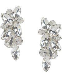 Cezanne Rhinestone Cluster Stud Earrings