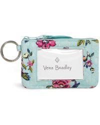Vera Bradley - Iconic Zip Id Case - Lyst