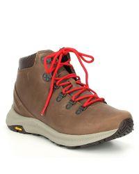Merrell - Men's Ontario Leather Mid Boot - Lyst