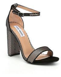 0aaee28c62b4 Steve Madden - Carrson Ankle Strap Dress Sandals - Lyst