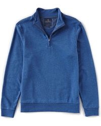 Brooks Brothers - Solid Terry Cloth Half-zip Pullover - Lyst