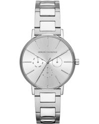 13cf9ad13fb Lyst - Armani Exchange Ax Copeland Analog   Date Bracelet Watch in ...