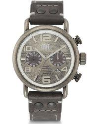 Frye Officer Slate Leather Watch