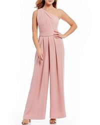 Antonio Melani - Helena One Shoulder Jumpsuit - Lyst