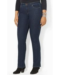 Lauren by Ralph Lauren - Plus Super-stretch Slimming Modern Curvy Jeans - Lyst