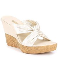 Onex - Mindie Wedge Sandals - Lyst