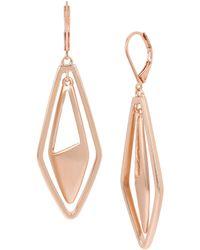 Kenneth Cole - Geometric Orbital Earrings - Lyst