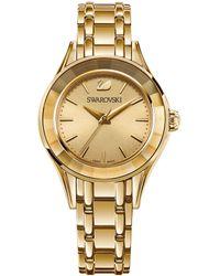 Swarovski - Alegria Stainless Steel & Crystal Analog Bracelet Watch - Lyst