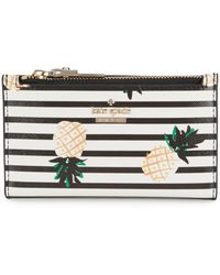 Kate Spade - Cameron Street Pineapple Mikey Wallet - Lyst