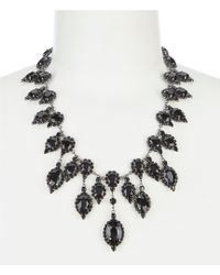 Cezanne - Jet Statement Necklace - Lyst