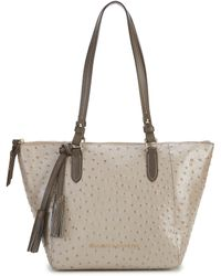 Dooney & Bourke - Ostrich Collection Tasseled Maxine Tote - Lyst