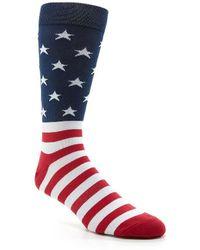 K. Bell - American Flag Crew Socks - Lyst