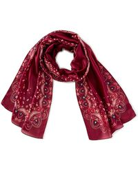 Collection 18 - Afghan Oblong Scarf - Lyst