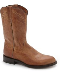 Lucchese - Since 1883 Mad Dog Goat Roper Western Boots - Lyst