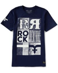 Rock Revival - Block Party Logo Short-sleeve T-shirt - Lyst