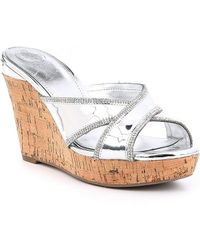 Guess - Eleonora Wedge Sandals - Lyst