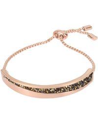 Kenneth Cole - Sprinkle Stone Adjustable Slider Bracelet - Lyst
