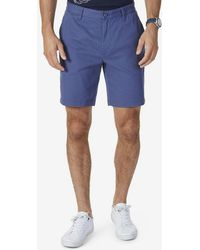 Nautica - Anchor Flat-front Deck Stretch Shorts - Lyst