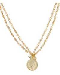 Panacea - Layered Coin Necklace - Lyst