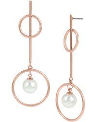 BCBGeneration - Geometric Drop Earrings - Lyst