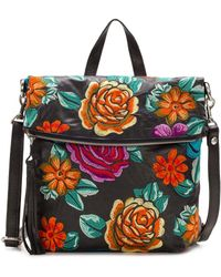 Patricia Nash - Spanish Villa Embroidery Collection Luzille Convertible Backpack - Lyst