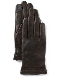 Cole Haan - Deerskin Tech Gloves - Lyst