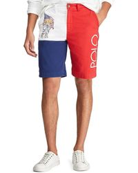 cb16535632 Ralph Lauren Polo Classicfit Canadian Ripstop Cargo Shorts in White ...