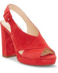 Vince Camuto - Slingback Platform Sandal - Lyst