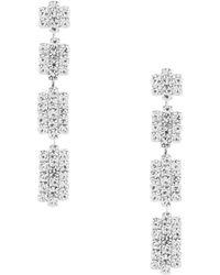Cezanne - Geometric Linear Earrings - Lyst