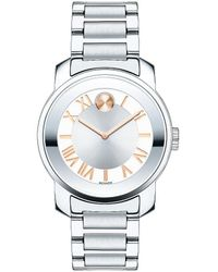 Movado Bold - Stainless Steel Watch - Lyst