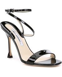 Brian Atwood - Sienna Patent Leather Dress Sandals - Lyst