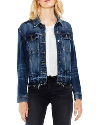 Vince Camuto - Two By Release Hem Denim Jacket - Lyst