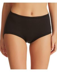 Fine Lines - Australia Pure Cotton Full Coverage Brief Panty - Lyst
