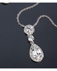 Nadri - Multi Cubic Zirconia Pendant Necklace - Lyst