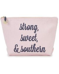 Draper James - Strong, Sweet, & Southern Pouch - Lyst