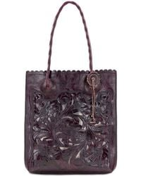 Patricia Nash - Burnished Tooled Collection Cavo Tote - Lyst