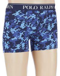 Polo Ralph Lauren - Camo Cotton Stretch Boxer Briefs - Lyst