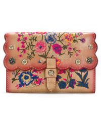 Patricia Nash - Prairie Rose Embroidery Collection Colli Wallet - Lyst