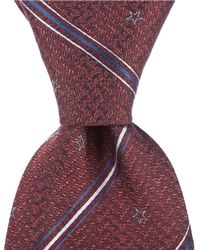 "John Varvatos - Star And Stripe Traditional 3.14"" Silk Tie - Lyst"