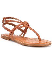 Roric Knotted Flat Sandals cOQ82Q