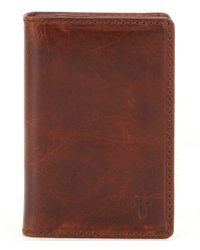 Frye - Logan Small Wallet - Lyst